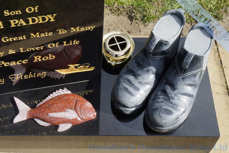 Snapper And Work Boots Memorial