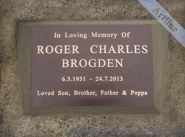 Bronze Plaque Memorial